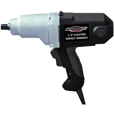 speedway 110 volt 1 2 in electric impact wrench 46692