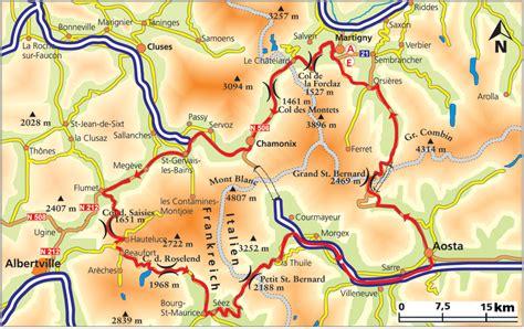 Motorradtouren Um Berlin by Motorradtour Franz 246 Sische Alpen Rund Um Den Mont Blanc