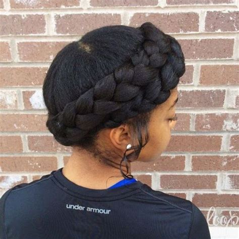 crown twist braid on african hair 70 best black braided hairstyles that turn heads in 2017