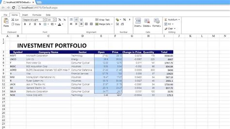 Asp Net Spreadsheet by Devexpress Asp Net The Spreadsheet