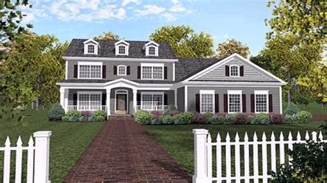 front porches on colonial homes colonial house with front porch design