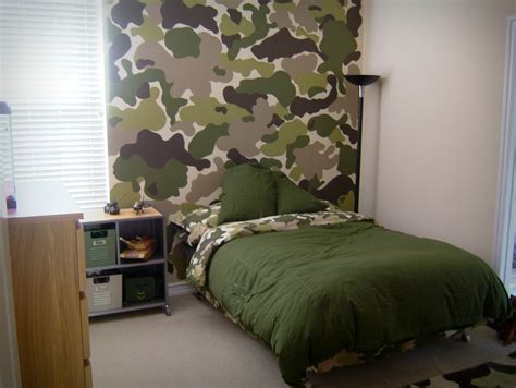 Camo Bedroom Ideas | camouflage room decor for kids room decorating ideas