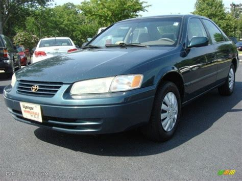 Toyota Camry Green Color 1998 Green Metallic Toyota Camry Le 50870420