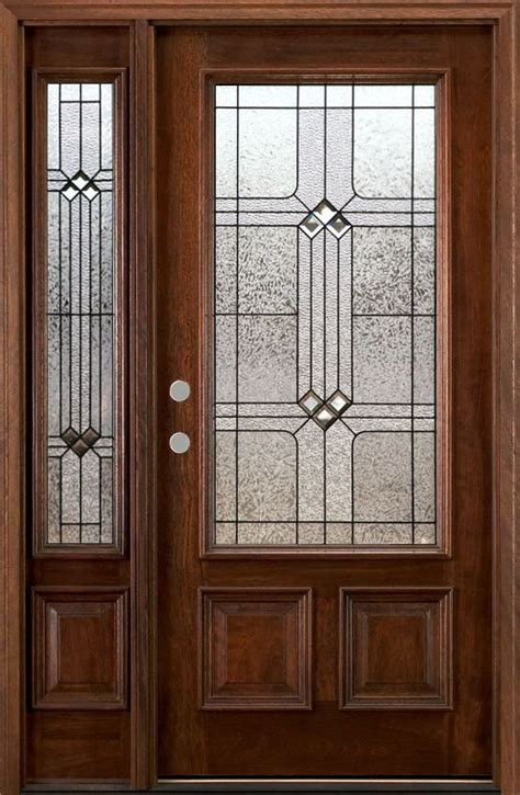 Front Entry Doors With One Sidelight Front Doors Wood Doors And Entry Doors On