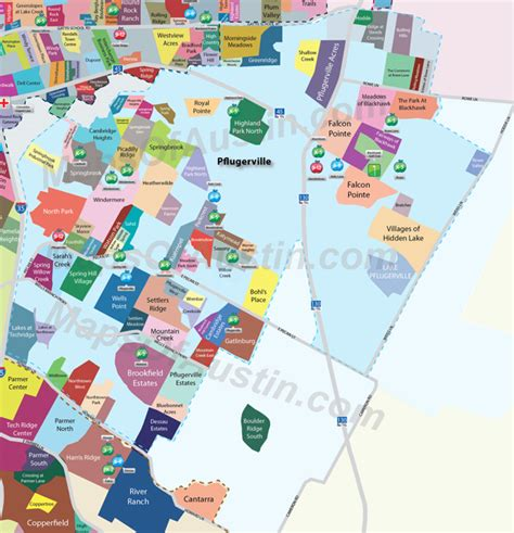 texas neighborhood map pflugerville neighborhoods maps of neighborhood maps of texas