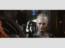 "Photo of Alice Krige, portraying ""Borg Queen""(#18d71 ... Jonathan Frakes"