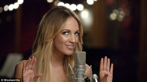 overstock commercial actress singing samantha jade s woolworths tv competition only has only