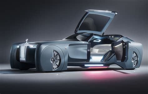 roll royce rols rolls royce vision next 100 concept revealed