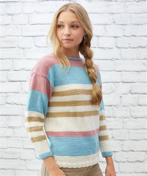 striped knit sweater pattern free striped sweater knitting patterns patterns knitting