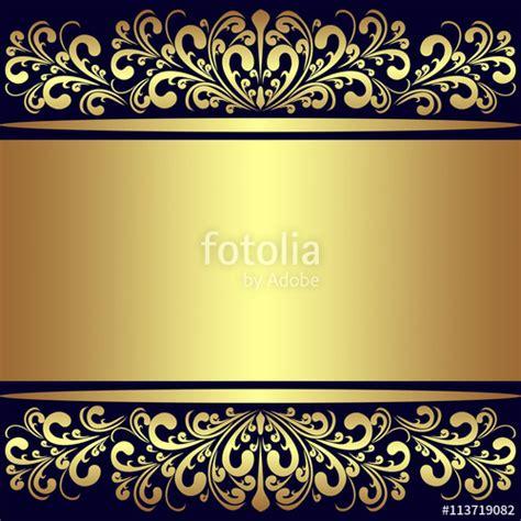 navy blue background with golden royal borders stock image and royal blue and gold background www pixshark com images