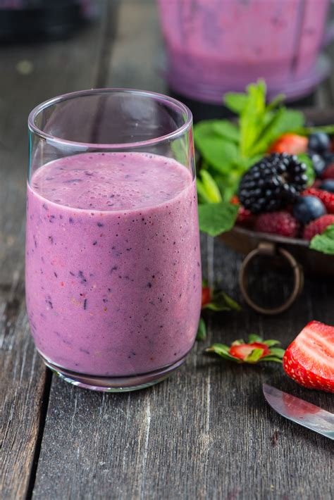 Detox Blueberry Fruit Smoothie by Cleansing Detox Smoothie All Nutribullet Recipes