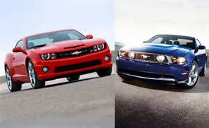 2012 ford mustang gt vs 2012 chevy camaro ss car reviews