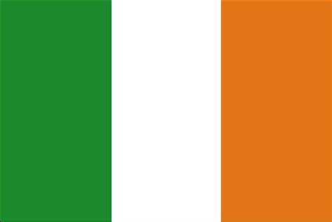 the irish and the ireland flag colors