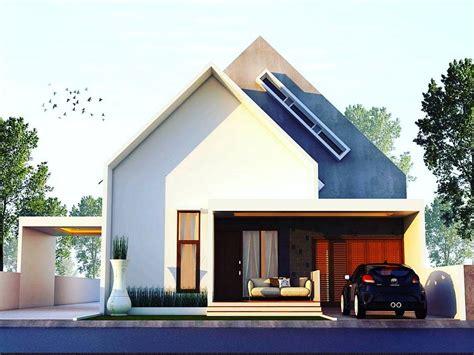 desain rumah tampak depan samping belakang