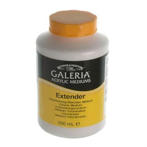 acrylic paint extender medium galeria medium extender 500ml winsor newton from