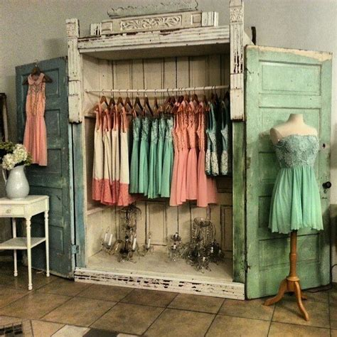 wandschrank vintage bedroom closets shabby chic interior design ideas