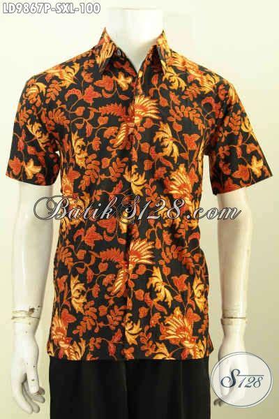 Hem Batik Kemeja Batik Bahan Katun Halus Db4108 1 jual baju batik hem paling lengkap sedia