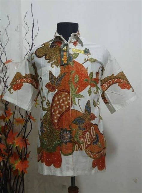 Baju Batik Lengan Pendek Khas Pekalongan 27 batik tulis indonesia batik tulis with the highest quality
