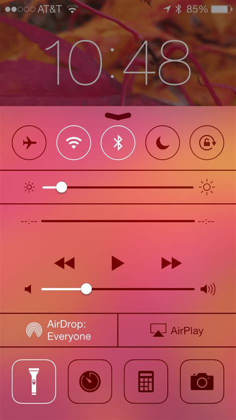 ios 7 how to use and turn your iphone flashlight from
