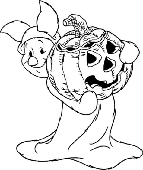 halloween coloring pages winnie the pooh december 2008