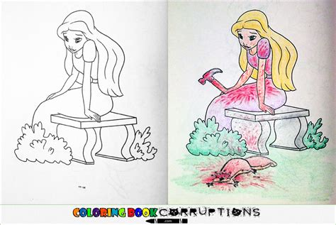 coloring book pages wrong corrupting children s coloring books