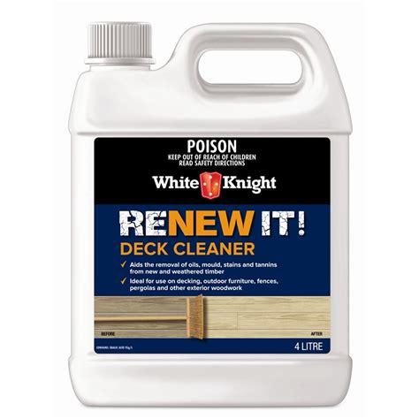 white knight 4l renew it deck cleaner ebay