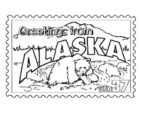 Usa Printables Alaska State St Us States Coloring Pages Coloring Pages Pinterest Alaska Coloring Pages