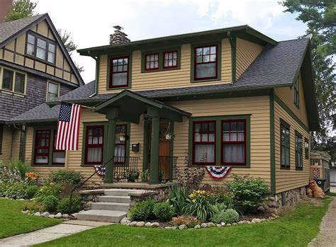 craftsman exterior paint colors exterior paint colors consulting for houses sle
