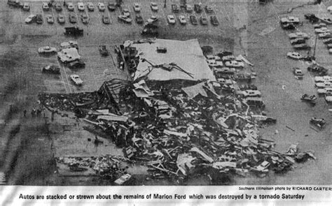 marion il ford tornado marion illinois history preservation
