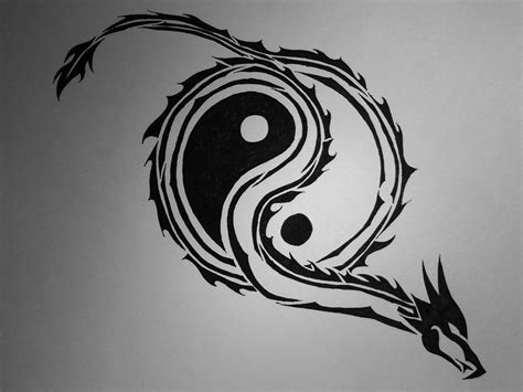 tribal tattoo yin image for tribal free designs yin yang