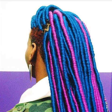 faux yarn dreads on natural hair 22 best faux locs yarn locs just locs period images on