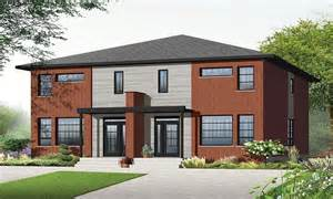 plans modern duplex house designs contemporary