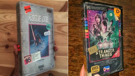 Or Vhs Artist Creates Awesome Vhs Boxes For Things Rogue One And Other Genre Flicks The Verge