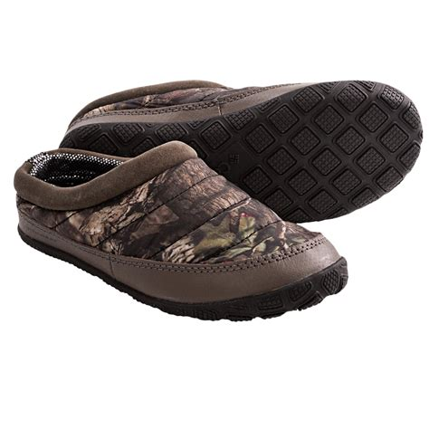 youth boys slippers columbia sportswear packed out camo omni heat 174 slippers