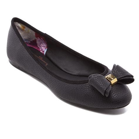 ted baker flat shoes ted baker s immet ballet flats black free uk