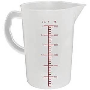 winware polypropylene measuring jug 3 litre capacity