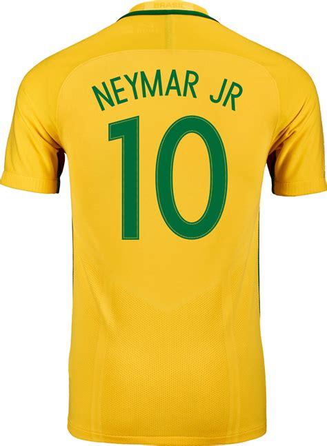 T Shirt Neymar White nike neymar jr brazil jersey 2016 brazil jerseys