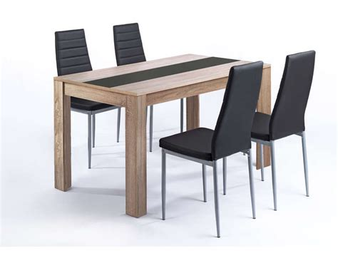 conforama table et chaise ensemble table et 4 chaises pegasus vente de ensemble