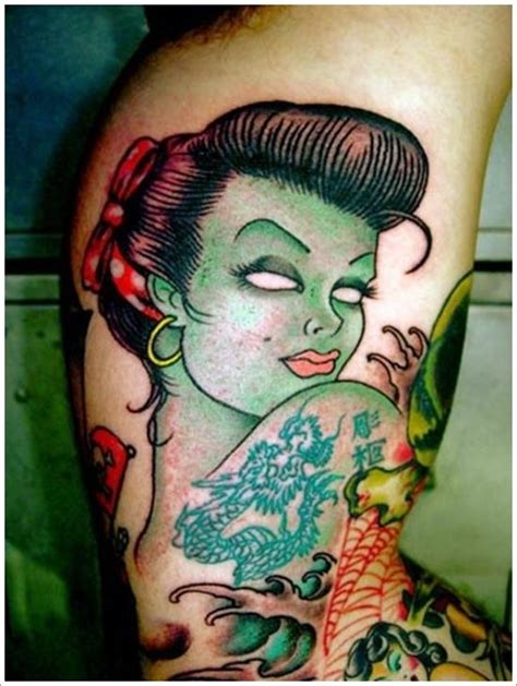 zombie tattoo meaning 15 best amazing zombie tattoo design images on pinterest