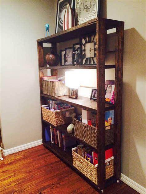 Bookshelf Handmade - diy reclaimed pallet bookshelf bookcase