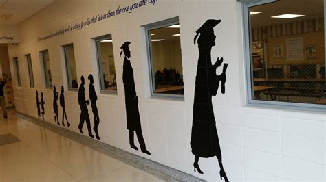 Wall Murals For Schools chicago sports teams make a difference to a chicago school