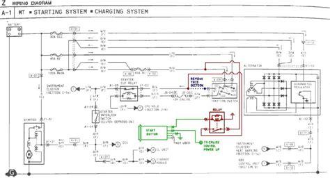 electrical wiring start button wiring honda key switch
