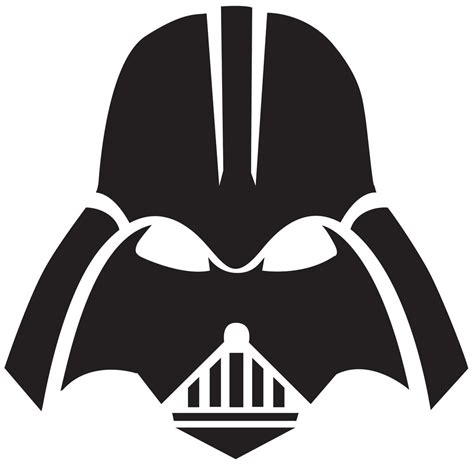 darth vader helmet template free wars pumpkin templates popsugar tech