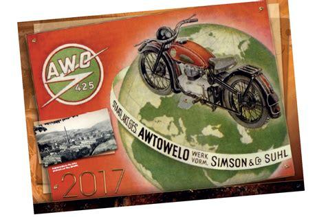 Awo Motorrad Kalender by Motorrad Oldtimer Service