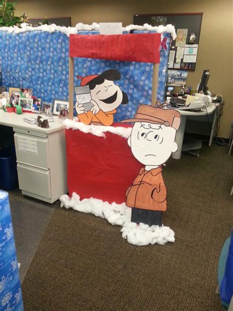 charlie brown christmas lights office christmas decorating competition christmas decor