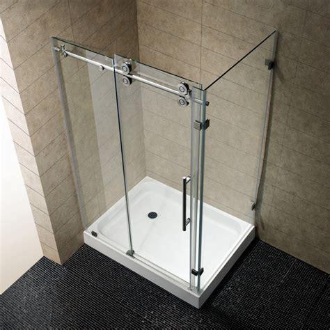 4 Shower Stall Kit by Vg6051stcl48 36 X 48 Frameless Rectangular Shower