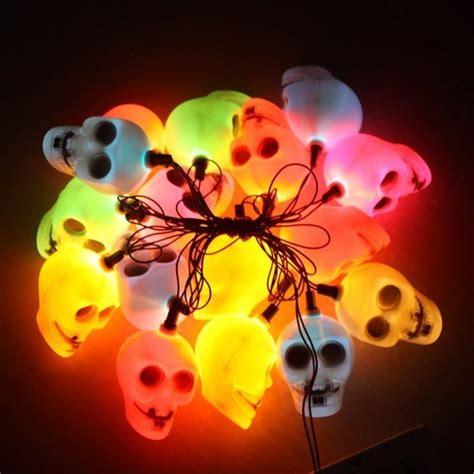 skull string lights skull string lights 187 petagadget