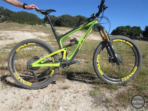 Handmade Bike - alchemy arktos trail bike ride review mtbr