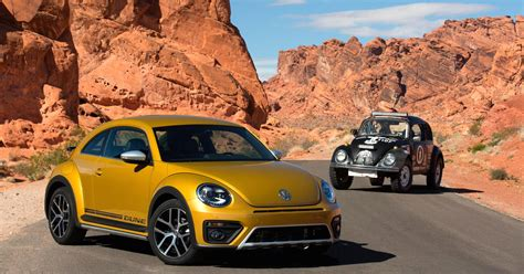 volkswagen beetle white 2016 volkswagen unveils its rugged 2016 beetle dune