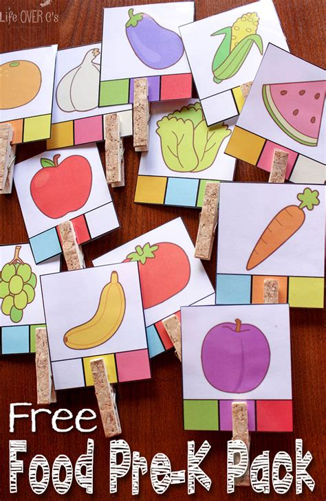 printable art games food games and activities free printables for preschoolers